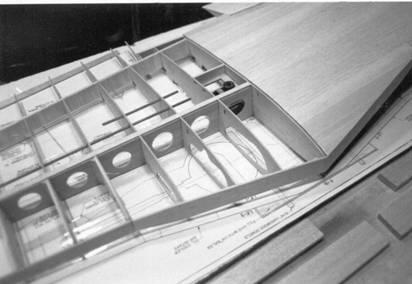 BUILT-UP*BACKWOODS RAMSHACKLE ENGINE SHED SCALE MODEL MASTERPIECES