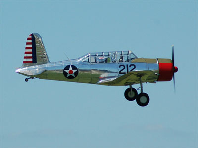 Vultee BT-13 - Denny Cole