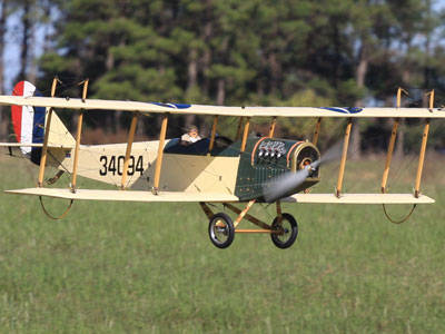 Curtiss JN-4 Jenny - Dick Scott